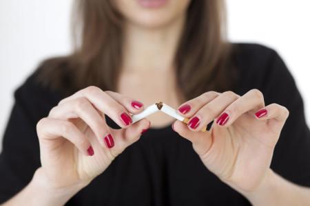 Курение при ВСД