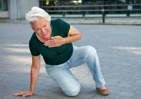 Боль в области сердца при инфаркте миокарда