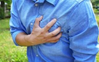 Почему колит в области сердца