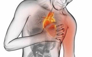 Боль в сердце отдает в левую руку
