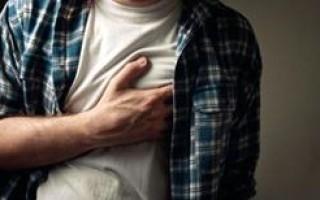 Признаки заболевания сердца у мужчин